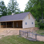 custom built horse barn in pa
