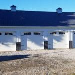 four car garage custom pole building