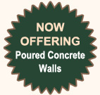 Poured Concrete Walls