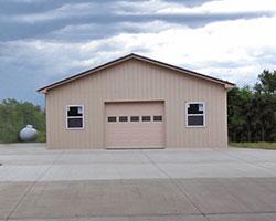 Single Door Garage